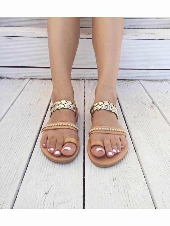 Greek Christina Leather SandalsHandmade Αncient Leather zSUqMGVp